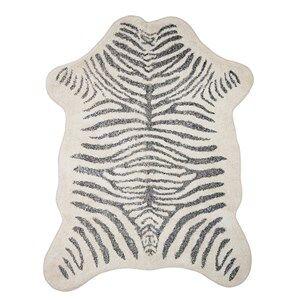 Bloomingville Matta Zebra 190 x 145 cm Barnmatta