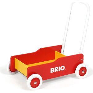 Brio Gåvogn I Træ - Rød