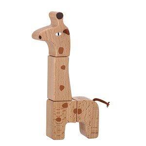 Bloomingville Toy Animal Giraffe Beech
