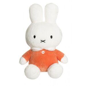 Miffy plysjbamse, orange 30 cm