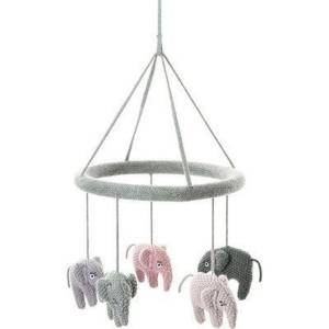 Smallstuff Uro, Heklet Elefant, Blue Rose / Pudder