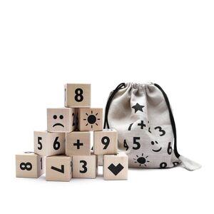 Ooh Noo Math Blocks, 10 Treklosser, Sort