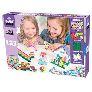 Plus Plus MINI Pastel Learn to Build Byggset 600 delar