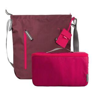 Crumpler Doozie M Camera Shoulder bag red wine / deep pink