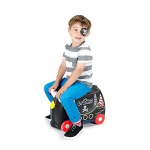 Smallstuff Trunki Barnekoffert, Ride-On, Pedro Pirat