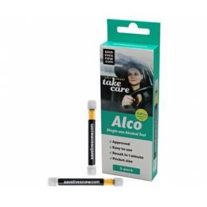 Sony Ericsson SaveLivesNow Alco Single-use Alcohol Test 0,2  2-pack