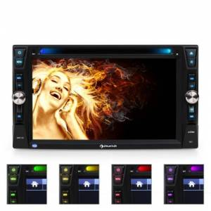 Auna MVD-481 monitoriautoradio DVD CD MP3 USB SD HD 6,2''