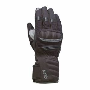 Ixon MC-Handsker Ixon Pro Tenere Dame, Sølv/Sort