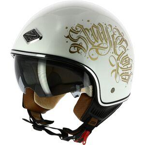 Astone Black Letters Jet hjelm