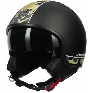 Astone Minijet 66 Camo Jet hjelm