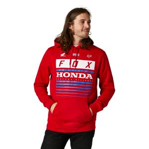 FOX Fleecepaita FOX Racing Honda Pullover Punainen