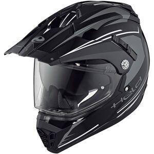 Held Alcatar Motocross kypärä  - Musta Valkoinen - Size: XS