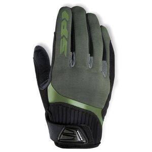 Spidi G-Flash Käsineet  - Musta Vihreä - Size: 3XL