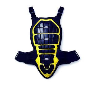 Spidi Defender Takaisin ja rinnassa suojelija  - Musta Keltainen - Size: M
