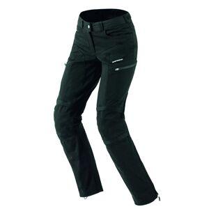 Spidi Amygdala Naiset Moottoripyörä Tekstiili Housut  - Musta - Size: 28