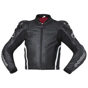 Held Safer Moottoripyörä nahkatakki  - Musta - Size: 52