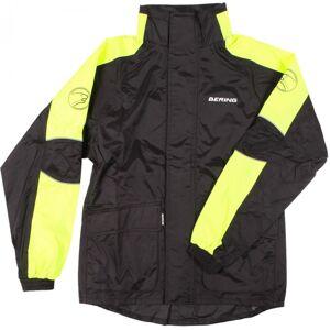 Bering Maniwata Neon Sadetakki  - Musta Keltainen - Size: XL