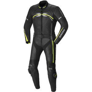 IXS Camaro Kaksiosainen puku  - Musta Keltainen - Size: 54