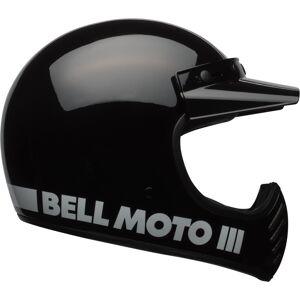Bell Moto-3 Classic Motocross-kypäräMusta