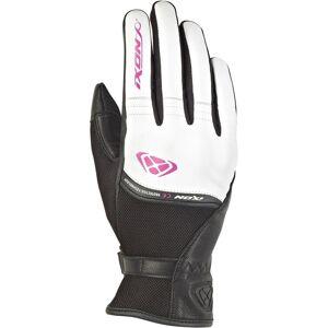 Ixon Rs Shine 2 Naisten käsineetMusta Valkoinen Pinkki