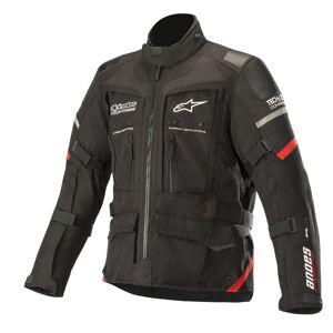 Alpinestars Andes Moottoripyörä tekstiili takkiMusta Punainen