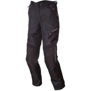 Bering Intrepid Moottoripyörä tekstiili reisitaskuhousut.  - Musta - Size: 42
