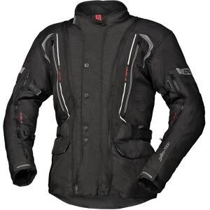 IXS Tour Flex-ST Moottori pyörä tekstiili takki  - Musta - Size: 4XL