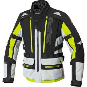 Spidi H2Out Allroad Moottori pyörä tekstiili takkiMusta Harmaa Keltainen