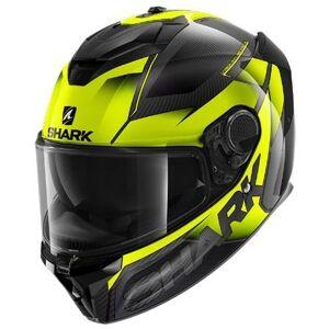 Shark Spartan GT Carbon Shestter Helmet KypäräMusta Keltainen