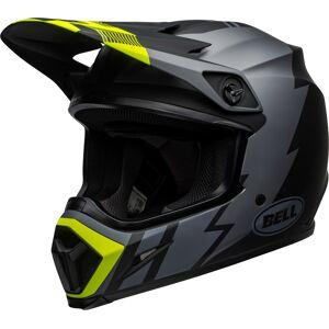 Bell MX-9 Strike MIPS Motocross-kypäräMusta Keltainen