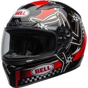 Bell Qualifier DLX Mips Isle of Man 2020 kypäräMusta Valkoinen Punainen