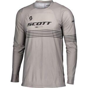 Scott 450 Angled Light Motocross Jersey  - Musta Harmaa - Size: 2XL