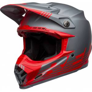 Bell Moto-9 Flex Louver Motocross kypäräHarmaa Hopea