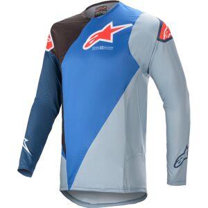 Alpinestars Supertech Blaze Motocross Jersey  - Sininen - Size: M