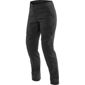 Dainese Chinos Naiset Moottoripyörä Tekstiili Housut  - Musta - Size: 29