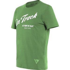 Dainese Paddock Track T-paitaValkoinen Vihreä