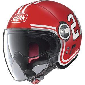 Nolan N21 Visor Quarterback SuihkukypäräValkoinen Punainen