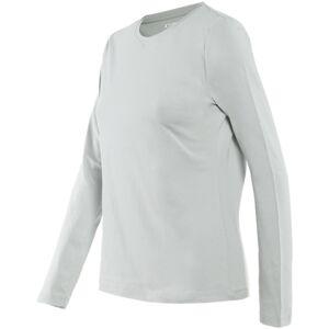 Dainese Paddock LS Naisten T-paita  - Harmaa Punainen - Size: L