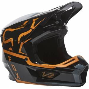 FOX V2 Merz Motocross-kypäräMusta Kulta