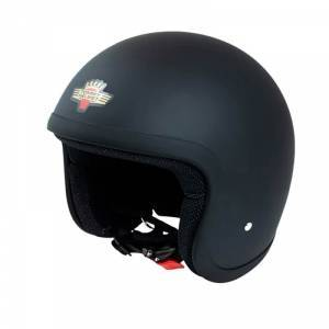 Tommy Motorcykelhjälm T2000 Classic, matte black, Tommy