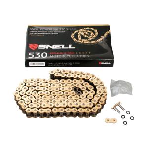 Snell MC-kjede Snell Powerlink 530 X-Ring oransje