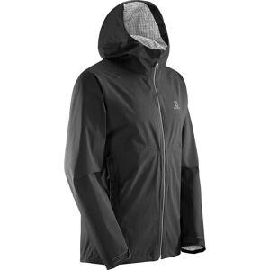 Salomon La Cote Flex 2.5l Jacket Men's Sort