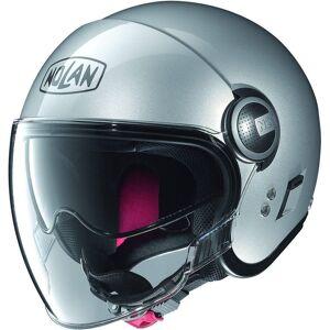 Nolan N21 Visor Classic Jet hjelm Sølv 2XL