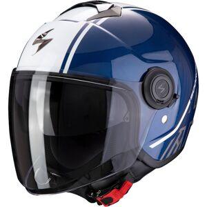 Scorpion Exo City Avenue Jet hjelm Hvit Blå XL