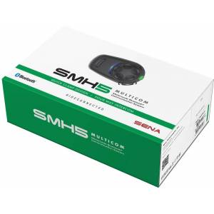 Sena SMH5 Multicom Bluetooth Communication System Single Pack Bluet... Svart en størrelse