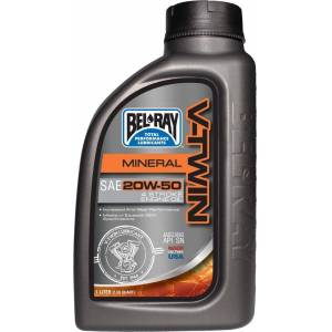 Bel Ray Bel-Ray V-Twin 20W-50 Mineral Motor olje 1 Liter