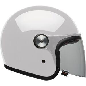 Bell Riot Solid Jet hjelm Hvit L