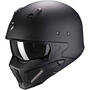 Scorpion Covert-X Solid Hjelm Svart S
