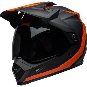 Bell MX-9 Adventure Motocross hjelm Svart Rød S