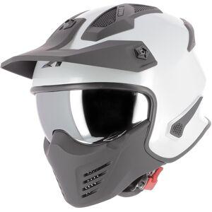 Astone Elektron Jet hjelm Hvit XL